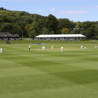 Sir Paul Getty's Cricket Ground at Wormsley